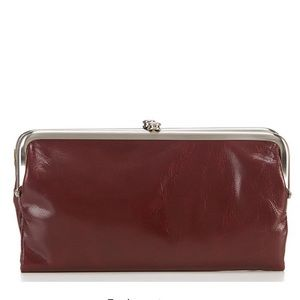 NWT Hobo Lauren Wallet in Deep Plum